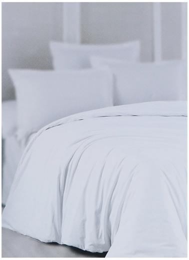 Boyner Evde Boyner Evde 240 x 220 cm  Çift Kişilik Beyaz Nevresim Kılıfı Beyaz